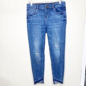 Z1975 Zara High Waisted Skinny Jeans